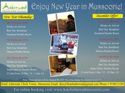 New Year Packages in Mussoorie, Mussoorie New Year Packages