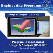 ANSYS,  CATIA,  AutoCAD,  Solidworks Training in Dehradun.