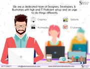 Graphic , Website ,  Multimedia ,  E-learning at eduhive creative studio