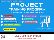Enroll in PHP,  JAVA,  .NET,  ANDROID,  SEO,  C,  SQL with LIVE PROJECT