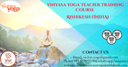 100 Hour Vinyasa Yoga Teacher Training Course in Rishikesh India