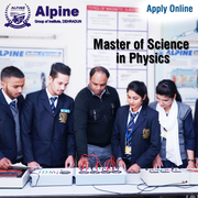 M Sc (Physics) Fee structure Alpine Group