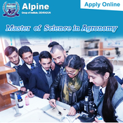 M Sc (Agronomy) fee structure Alpine Group