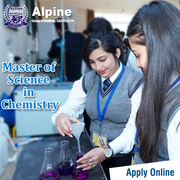 M Sc (Chemistry) fee Alpine Group