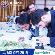 M Sc (Environmental Science) fee Alpine Group