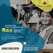 Paint like a pro with short courses from Dehradun College of Art