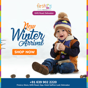 Latest Arrival of Winter Collection on Firstcry Store,  GMS Road