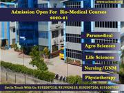 Top Paramedical College In Dehradun