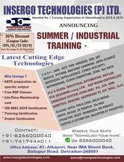 Online Certified summer internship Training in Uttarakhand